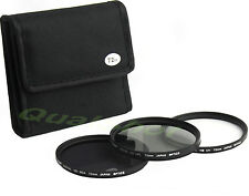 72mm 72 Pro Lens Filter Kit  UV CPL ND4 ND 0.6 for Canon XH-A1S