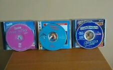 3 PC CD-ROM GAMES. Barbie Print & and Play, Clue Finder, & Operation Neptune