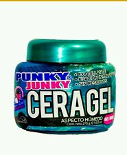 PUNKY JUNKY CERA GEL FX  BRILLANTE 9.52 OZ  270 GR.  SUPER HOLD like wax