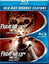 FRIDAY THE 13TH PART V & VI (BLU-RAY) LIKE NEW.