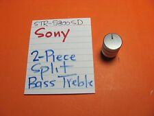 SONY 2 PIECE SPLIT BASS TREBLE KNOB STR-5800SD STR-6800SD STR-7800SD #2