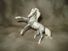 Breyer CM Glossy Decorator Silver Filigree Rearing Andalusian Stablemate
