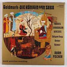 GOLDMARK: Queen of Sheba FISCHER Hungaroton Stereo BOX Vinyl LP Rare