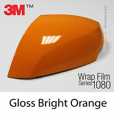 20x30cm FILM Gloss Bright Orange 3M 1080 G54 Vinyle COVERING Wrap Car Wrapping