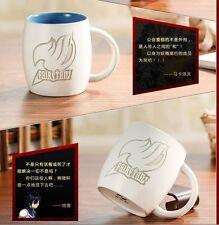 Fairy Tail Natsu Dragnir Cup Ceramic Cup Mug Embossed Inlaid Logo Cosplay Gift