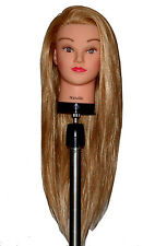 "* USA SELLER **26"" Cosmetology Mannequin Head SYNTHETIC Hair  co"