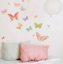 25 Floral Butterfly Wall Art Decal Stickers Modern Home Decor Mural Removable