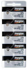 5Pcs Energizer 379 (SR521SW) Silver Oxide Watch Batteries