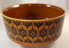 Hornsea Pottery 1970s Heirloom Brown Tureen Serving Dish by John Clappison
