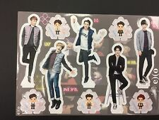 Kpop SMTOWN EXO K pop High Quality Official Photo Standing Paper Doll