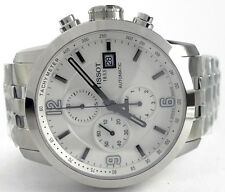 Men's T0554271101700 Tissot PRC 200 Automatic Chrono Watch, White Dial