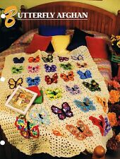 Butterfly Afghan   Annie's Attic Crochet Afghan Pattern Instructions