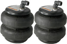 "air bags two 2500 lb with 1/2"" elbow for truck tow kit air ride suspension"