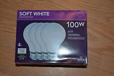 100 Watt Incandescent Light bulbs. Case of 48  EXTRA LONG LIFE, 1.8 year rated