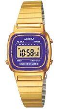 Casio LA-670WGA-6 Orologio Donna polso Vintage Nuovo Crono Sveglia Calendario