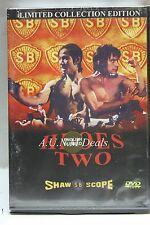 heroes two shaw scope ntsc import dvd 2001