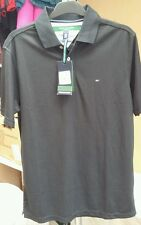 Tommy Hilfiger Golf TH-TECH Polo Shirt in Black EU SIZE S