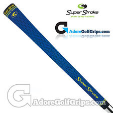 SuperStroke S-Tech Standard Golf Grips - Blue / Yellow / Black x 1