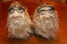 DUCK DYNASTY UNCLE SI ROBERTSON CAMOUFLAGE KIDS HOUSE SLIP ON SLIPPERS - SMALL