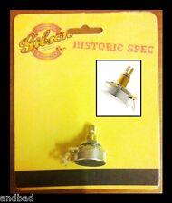 Gibson Historic Spec Pot Audio Taper Short Shaft for Les Paul, Sg, Es models