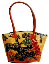 Shakuntala Loving Deer LADIES BAG Shantiniketan Leather Indian Shoulder Bag