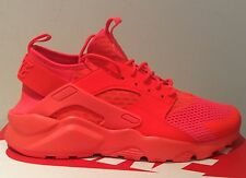 "Nike Air Huarache Run Ultra BR ""Crimson"" Taglia UK 10.5 (EUR 45.5) 833147 800"