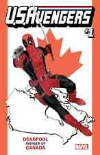 US AVENGERS 1 DEADPOOL CANADA STATE VARIANT NM