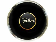 Ford Falcon 3-D Foil Emblem with a Volante S6 Deluxe Horn Button