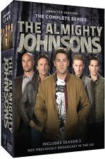 Almighty Johnsons: The Complete Series - 9 DISC SET (2015, REGION 1 DVD New)