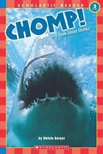Chomp! A Book About Sharks level 3 Scholastic Reader