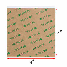 "4""X4"" 3M 300LSE Double Sided - SUPER STICKY HEAVY DUTY SHEET OF ADHESIVE TAPE"