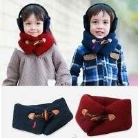 Kid Childrens Autumn Winter Warmer Toddler Neck Wraps Loop Scarf Muffler Shawl