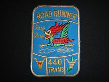 "Vietnam War US 440th Transportation Company ""ROAD RUNNER BEEP BEEP"" Patch"