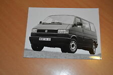 PHOTO DE PRESSE ( PRESS PHOTO ) Volkswagen Caravelle GL T4 de 1993 VW280