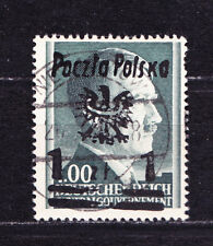 (PL) Poland Polen Polska Niezabitow Hitler local issue Fi 16 used expertised