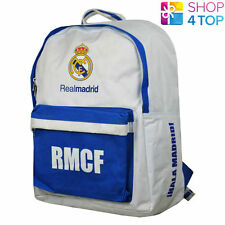REAL MADRID BACKPACK TRAVEL SCHOOL BAG FOOTBALL SOCCER CLUB TEAM OFFICIAL NEW