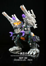 New Transformers Master Made SDT-02 Diabolus-Rex trypticon Figure In Stock