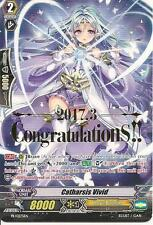 Catharsis Vivid Congratulations Full art promo Vanguard TCG Eng