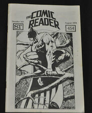 THE COMIC READER #109 INCREDIBLE HULK 181F-VF  RARE FANZINE!