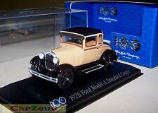 1:43 Minichamps 1928 Model A Standard Coupe, 100 Years of Ford Heart & Soul