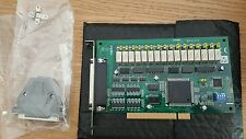 Advantech pci 1762 card  16-ch Relay and 16-ch Isolated Digital Input PCI Card
