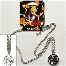 Dragonball Z Goku Symbol Metal Chain Pendant Necklace Costume Cosplay LICENSED