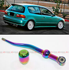 1988-2000 HONDA CIVIC NEO DUAL BEND SHORT THROW SHIFTER+ TYPE R STYLE SHIFT KNOB