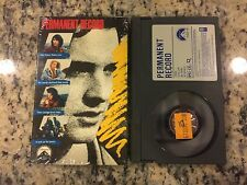 PERMANENT RECORD LIKE NEW BETA BETAMAX TAPE 1988 KEANU REEVES TEEN SUICIDE DRAMA