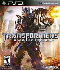 Transformers Dark of the Moon PS3 Factory SEALED New! FREE Ship!