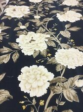 SANDERSON Peony Tree linen union curtain upholstery fabric By The Metre