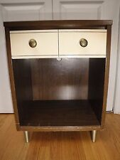 Mid Century Danish Modern KROEHLER Night Stand End Table Pearsall Era One Drawer