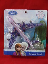 Disney Frozen Official Pull Back Die Cast Metal Plane, AEROPLANE,Sound and light