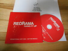 CD Pop Redrama - Hang It Up (1 Song) Promo VIRGIN / FUME cb +Presskit