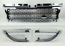 Range Rover Sport 06-09 Chrome Front Bumper Hood Grill w/ Side Fender Vents